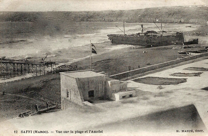 37. ss Amstel stranding 27-1-1912