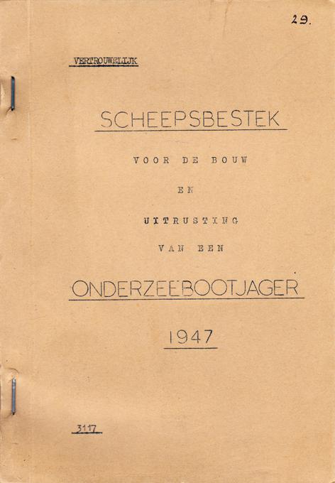 428 1947 bestek Friesland klasse